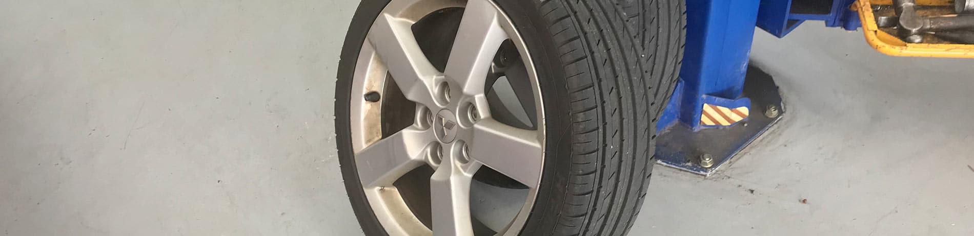 New Mitsubishi Tyres