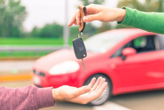 Tips before handing over the car keys